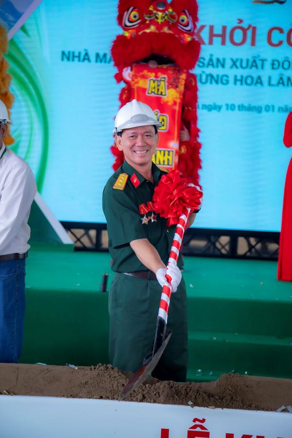 Khởi công Nhà máy đông trùng hạ thảo Hoa Lâm tại Long An - ảnh 4