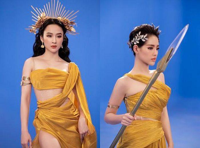 Angela Phương Trinh úp mở chuyện tái xuất với loạt ảnh nóng bỏng với Tú Anh, Khánh Linh - ảnh 3