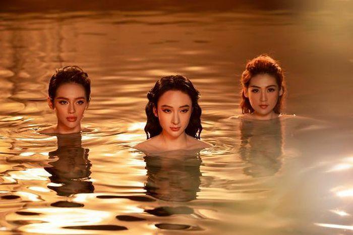 Angela Phương Trinh úp mở chuyện tái xuất với loạt ảnh nóng bỏng với Tú Anh, Khánh Linh - ảnh 4