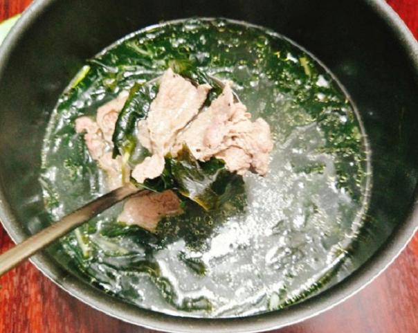 Cách nấu canh rong biển thịt bằm ngon, không tanh tại nhà - ảnh 11