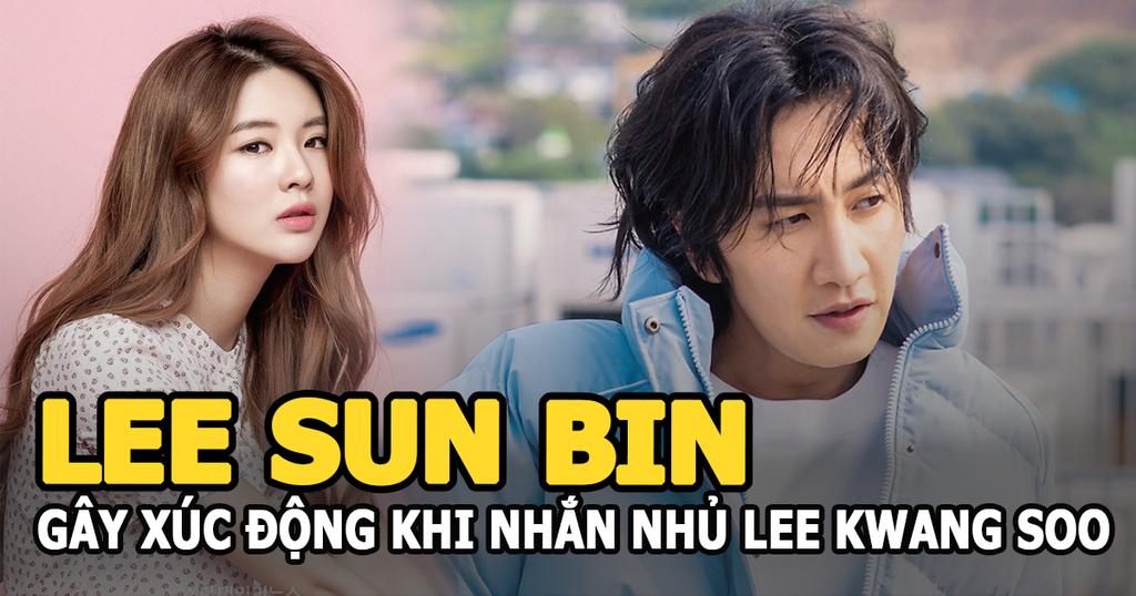 Lee Sun Bin – bạn gái Lee Kwang Soo gây xúc động khi nhắn nhủ bạn trai sau 11 năm ở Running man - ảnh 4