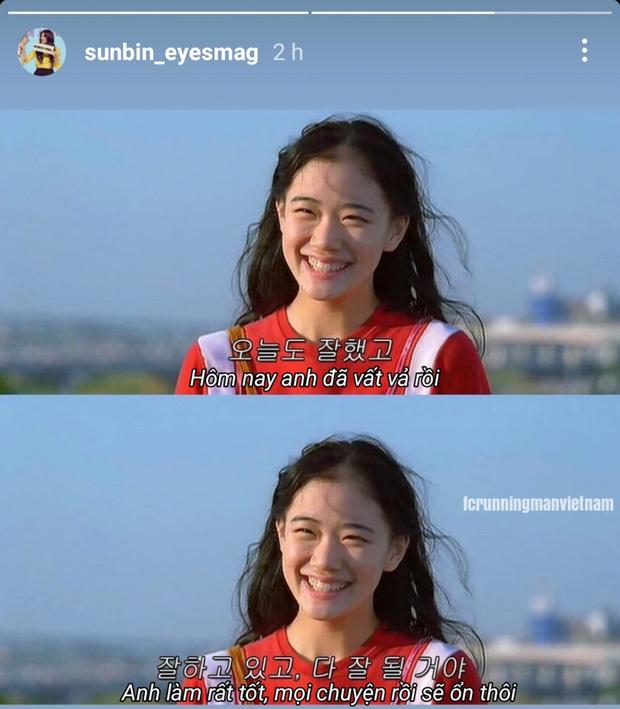 Lee Sun Bin – bạn gái Lee Kwang Soo gây xúc động khi nhắn nhủ bạn trai sau 11 năm ở Running man - ảnh 5