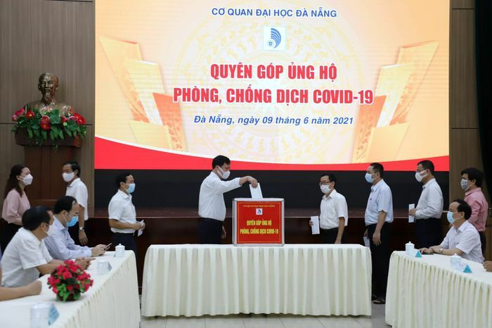 Đại học Đà Nẵng phát động quyên góp ủng hộ công tác phòng, chống dịch Covid-19 - ảnh 1