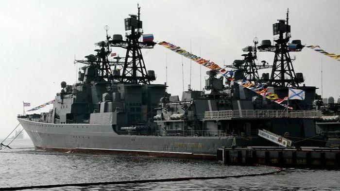 Nga phô diễn sức mạnh trong tập trận quy mô lớn ở Thái Bình Dương - ảnh 1