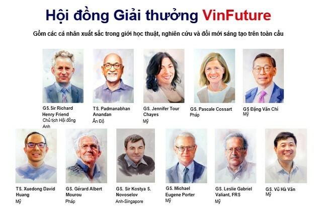 Chốt gần 600 đề cử, giải thưởng Vinfuture hút hàng trăm nhà khoa học hàng đầu thế giới - ảnh 2