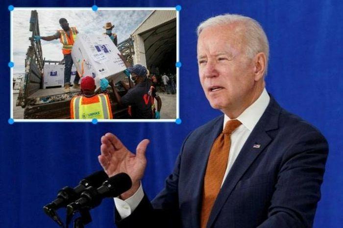 Tổng thống Biden: ''Mỹ tặng 500 triệu liều vaccine mà không đi kèm bất cứ ràng buộc nào'' - ảnh 1
