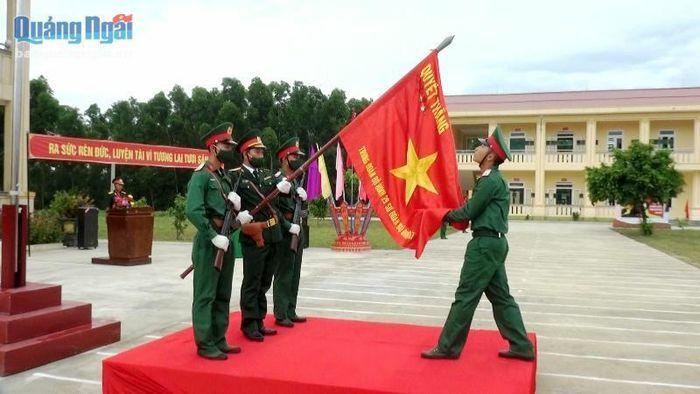 Trung đoàn 29 tổ chức lễ tuyên thệ chiến sĩ mới 2021 - ảnh 1