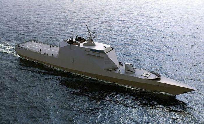 Tàu ''tàng hình toàn phần'' đầu tiên của Hải quân Nga lộ diện - ảnh 1