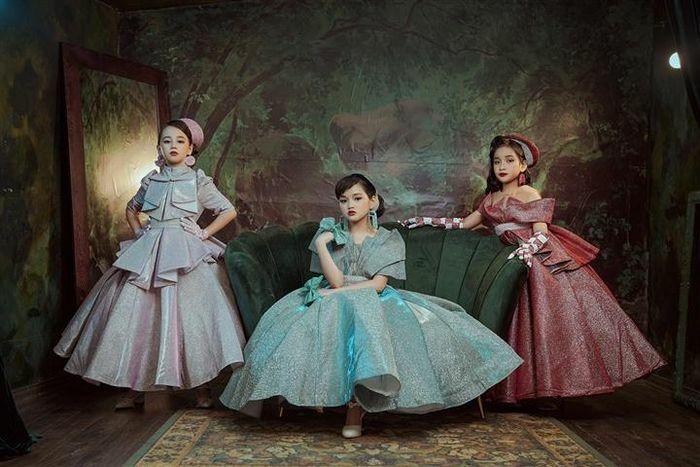 Dàn mẫu nhí hóa công chúa bước ra từ truyện cổ tích - ảnh 2
