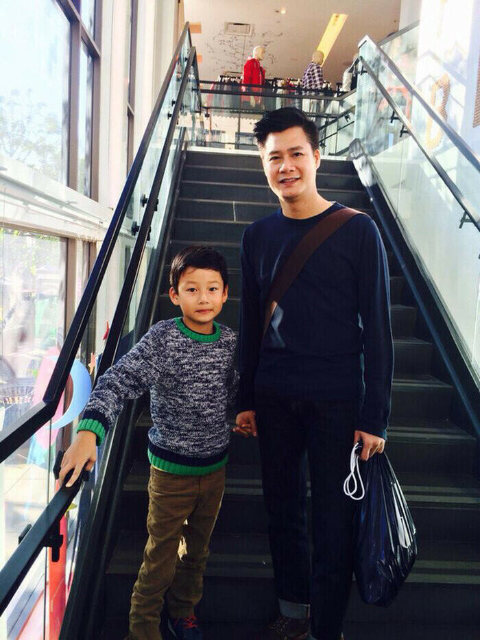 Con trai Jennifer Phạm - Bảo Nam phổng phao ở tuổi 14, ai cũng khen quá đẹp trai - ảnh 3