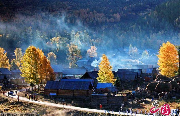 Ngắm cảnh bốn mùa ở ngôi làng đẹp nhất Trung Quốc - ảnh 8