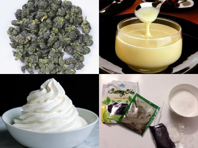 Cách làm trà sữa ô long sương sáo giải nhiệt mùa hè - ảnh 1