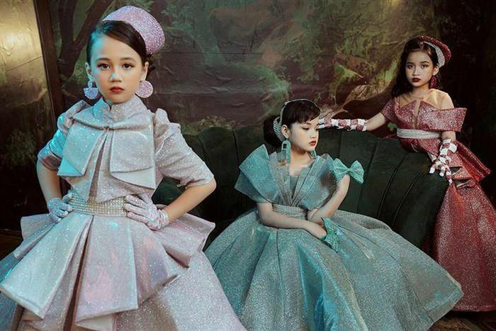 Dàn mẫu nhí hóa công chúa bước ra từ truyện cổ tích - ảnh 5