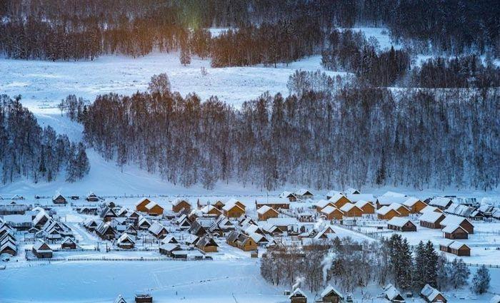Ngắm cảnh bốn mùa ở ngôi làng đẹp nhất Trung Quốc - ảnh 9