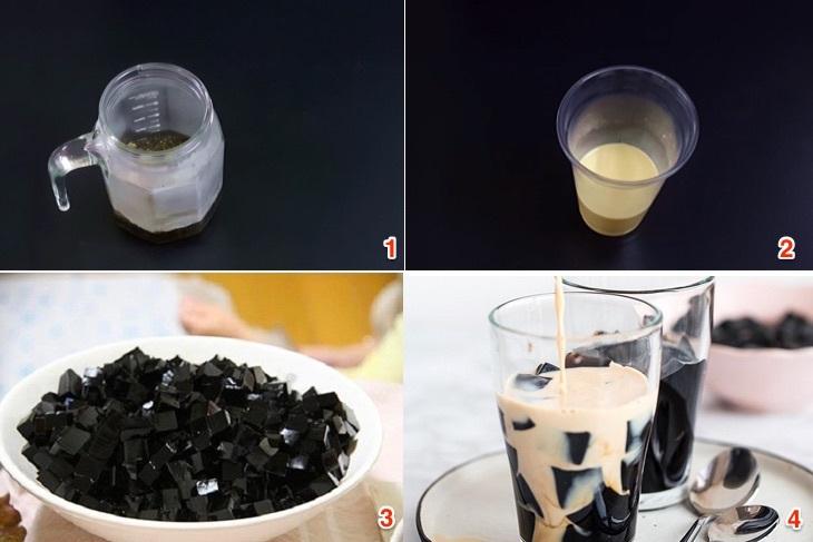 Cách làm trà sữa ô long sương sáo giải nhiệt mùa hè - ảnh 3