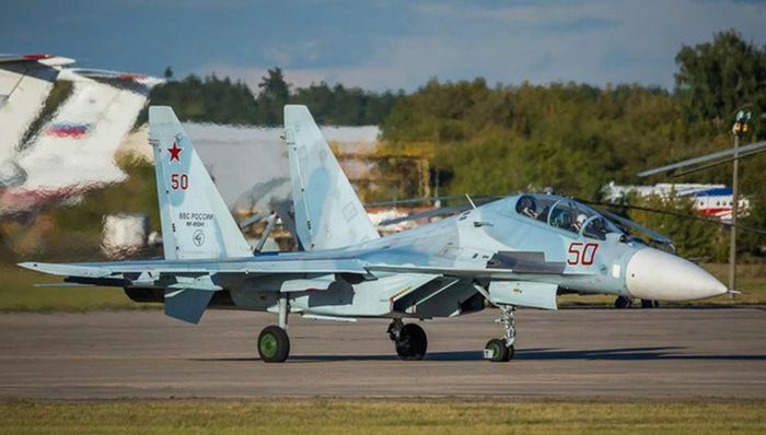 Su-30SM Nga áp sát buộc F-35 NATO phải đổi hướng bay - ảnh 10