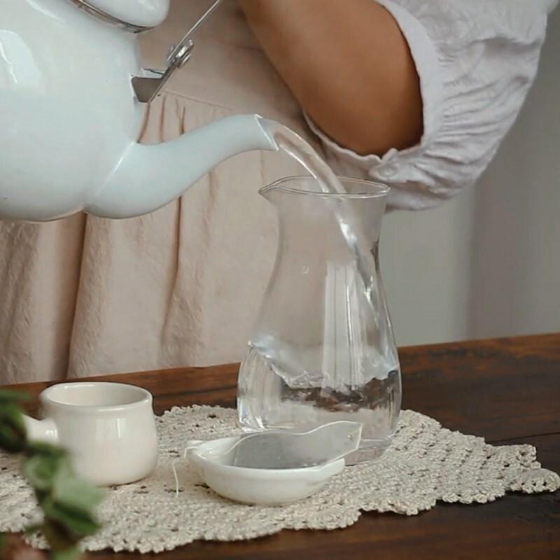 Cách làm trà sữa ô long sương sáo giải nhiệt mùa hè - ảnh 6
