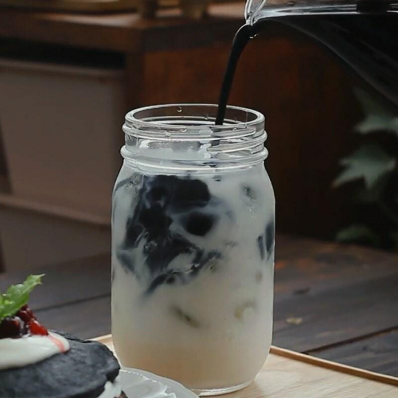 Cách làm trà sữa ô long sương sáo giải nhiệt mùa hè - ảnh 14