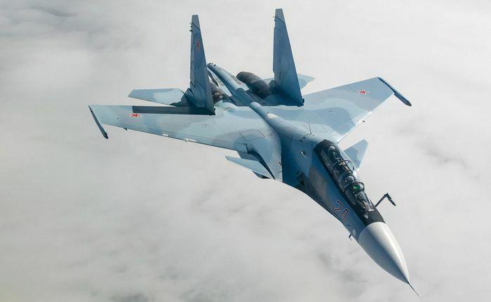 Su-30SM Nga áp sát buộc F-35 NATO phải đổi hướng bay - ảnh 23