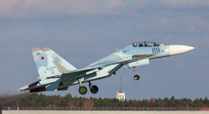 Su-30SM Nga áp sát buộc F-35 NATO phải đổi hướng bay - ảnh 12