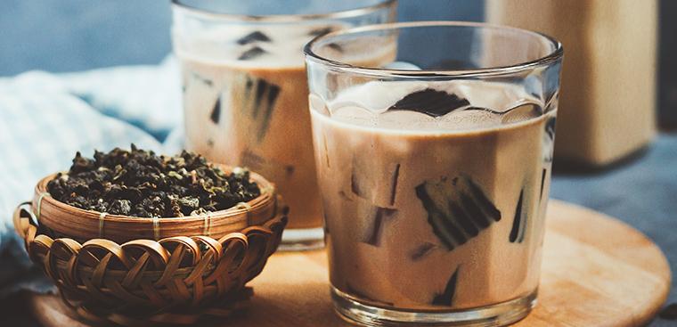 Cách làm trà sữa ô long sương sáo giải nhiệt mùa hè - ảnh 4