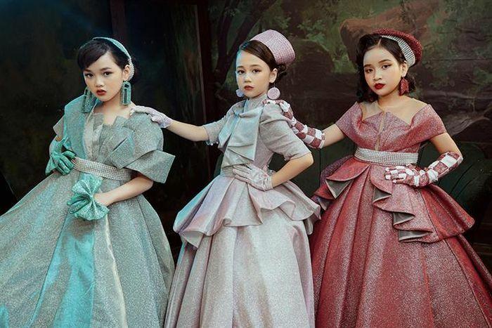 Dàn mẫu nhí hóa công chúa bước ra từ truyện cổ tích - ảnh 1