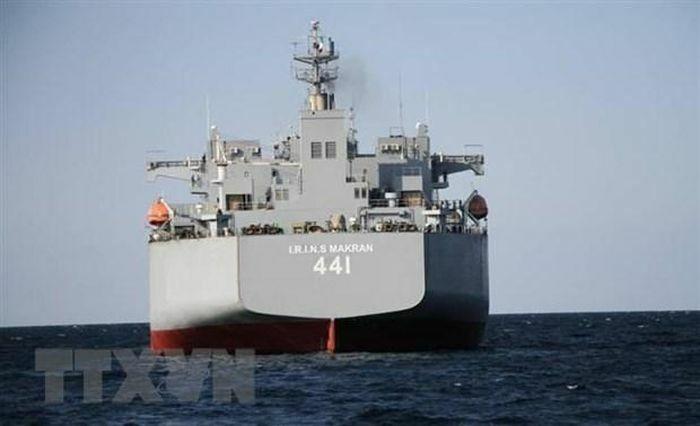 Tàu Hải quân Iran lần đầu tiên tiến vào Đại Tây Dương - ảnh 1