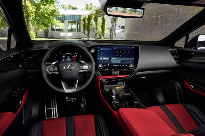 Ra mắt Lexus NX 2022: Nhìn qua dễ nhầm thành Porsche Macan, thêm 4 màn hình khổng lồ, đáp trả Mercedes-Benz GLC - ảnh 10