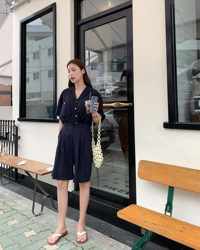 Chị em nên học gái Hàn mặc set đồng màu để sành điệu trong tích tắc - ảnh 2