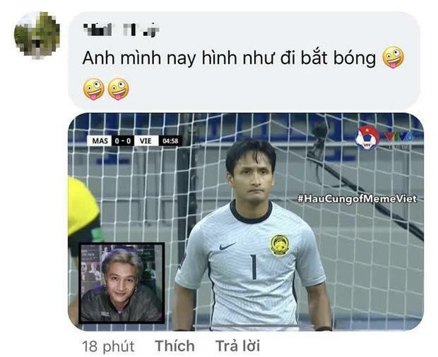 Dân mạng ''tròn mắt'' vì thủ môn Malaysia giống y đúc ca sĩ hot của Rap Việt - ảnh 3