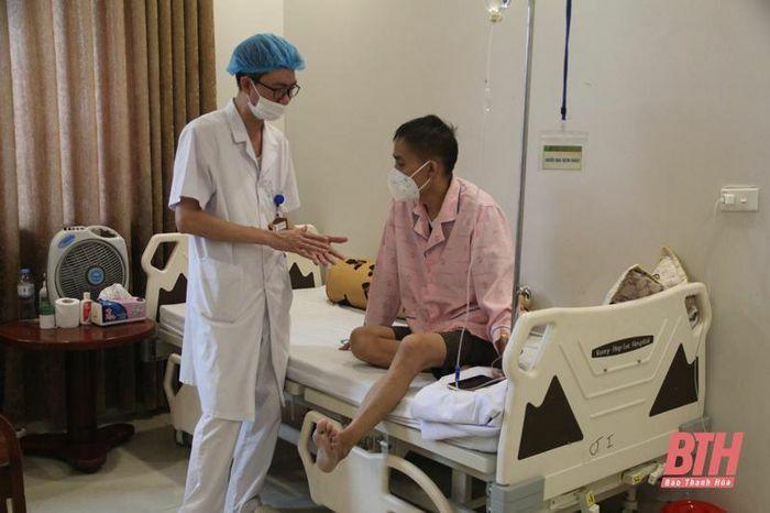 Bệnh viện Đa khoa Hợp Lực sẵn sàng tiếp nhận, bảo đảm cho các bệnh nhân ung bướu không bị gián đoạn điều trị do dịch COVID-19 - ảnh 5