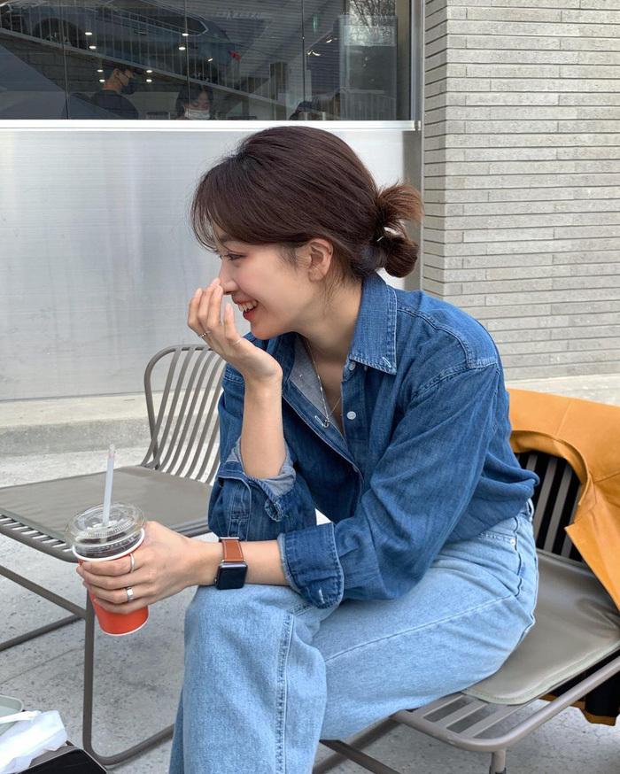 Chị em nên học gái Hàn mặc set đồng màu để sành điệu trong tích tắc - ảnh 11