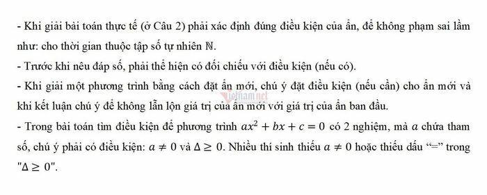 Mách thí sinh 2k6 cách làm bài thi môn Toán đạt điểm cao - ảnh 4
