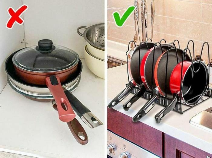 Để bếp không còn lộn xộn, chị em hãy ''ghim'' ngay những bí kíp sắp xếp này nhé! - ảnh 7