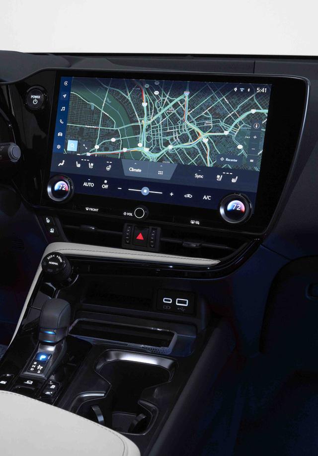 Ra mắt Lexus NX 2022: Nhìn qua dễ nhầm thành Porsche Macan, thêm 4 màn hình khổng lồ, đáp trả Mercedes-Benz GLC - ảnh 9