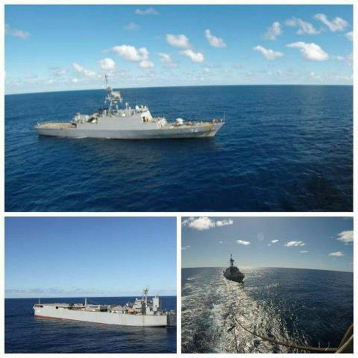 Iran chia sẻ ảnh tàu quân sự trên đường đến Venezuela - ảnh 1