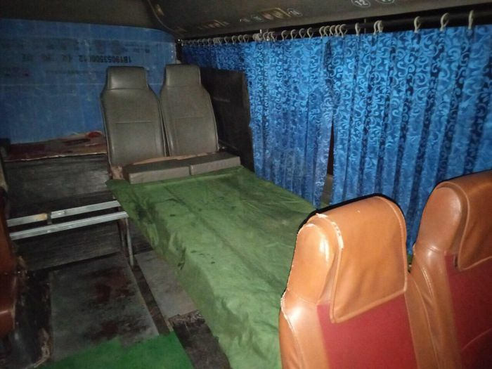 Hà Tĩnh: Điều động xe buýt làm điểm trực chốt phòng chống dịch Covid-19 - ảnh 4