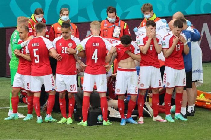 Đêm buồn Euro: Eriksen nguy cơ giải nghệ, đồng nghiệp phải chia tay sớm vì chấn thương kinh dị - ảnh 1