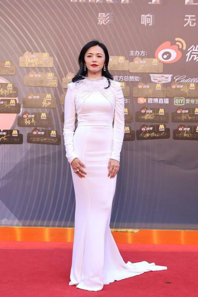 Dàn nàng thơ của Trương Nghệ Mưu 'đổ bộ' thảm đỏ Đêm Điện ảnh Weibo - ảnh 13