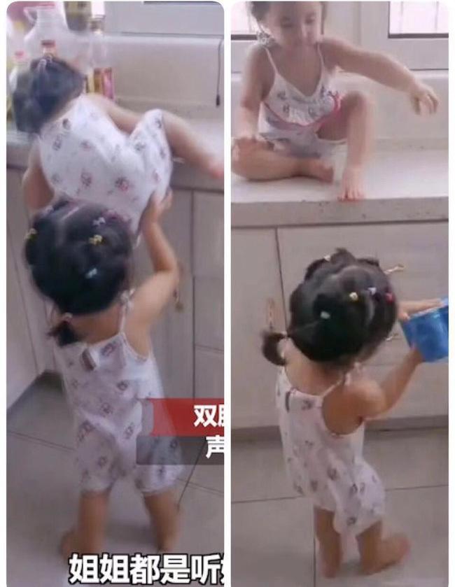 Con trai trèo thang tre theo bố lên mái nhà, trong tích tắc liền xảy ra cảnh tượng thót tim, cẩn thận khi chăm con không bao giờ là thừa - ảnh 8