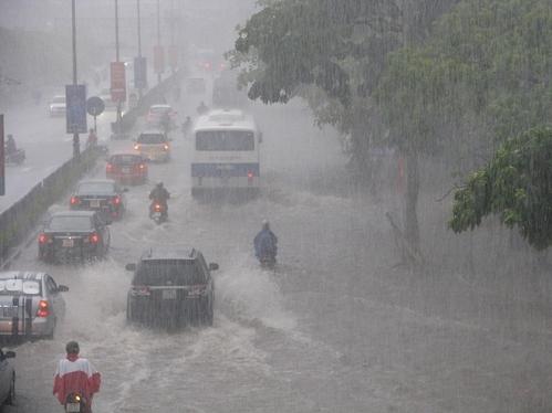 Bão số 2 suy yếu thành ATNĐ gây mưa lớn, diện rộng - ảnh 1