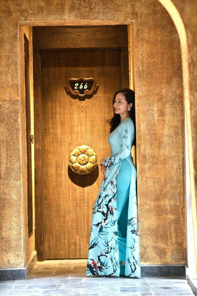 U50 quanh năm mực thước với áo dài vì tôn thờ vẻ đẹp cốt cách người Hà Nội - ảnh 4