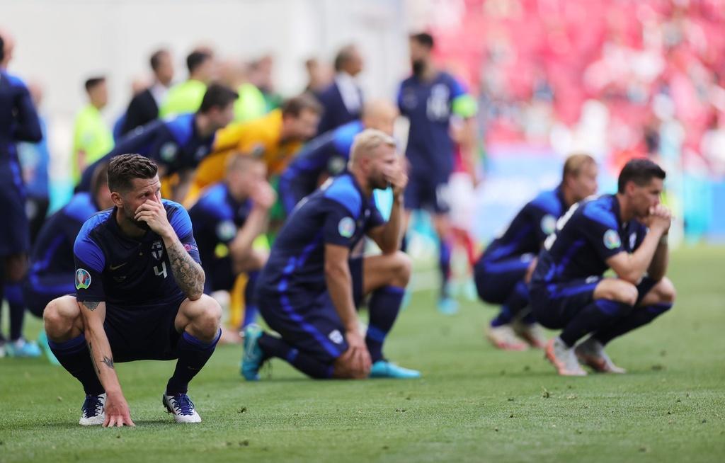 Ronaldo: 'Tôi tin Eriksen sẽ sớm trở lại sân cỏ' - ảnh 7