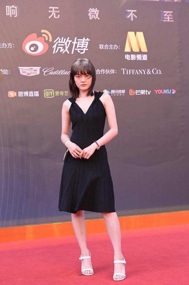 Dàn nàng thơ của Trương Nghệ Mưu 'đổ bộ' thảm đỏ Đêm Điện ảnh Weibo - ảnh 15