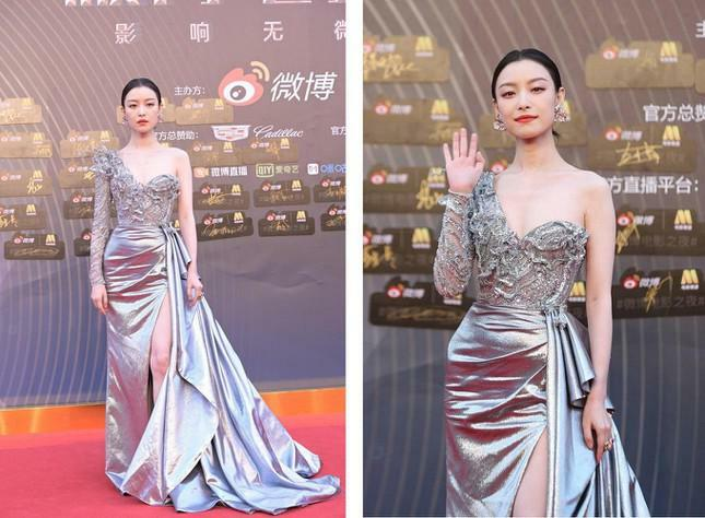 Dàn nàng thơ của Trương Nghệ Mưu 'đổ bộ' thảm đỏ Đêm Điện ảnh Weibo - ảnh 1
