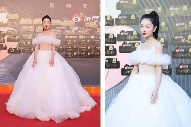 Dàn nàng thơ của Trương Nghệ Mưu 'đổ bộ' thảm đỏ Đêm Điện ảnh Weibo - ảnh 2