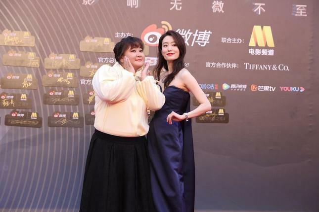 Dàn nàng thơ của Trương Nghệ Mưu 'đổ bộ' thảm đỏ Đêm Điện ảnh Weibo - ảnh 7