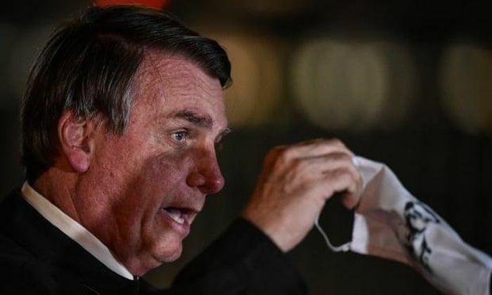 Covid-19: Không đeo khẩu trang, Tổng thống Brazil bị phạt tiền - ảnh 1