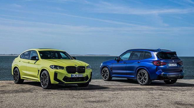 BMW trình làng bộ đôi xe SUV X3 và X4 bản nâng cấp giữa dòng đời - ảnh 1