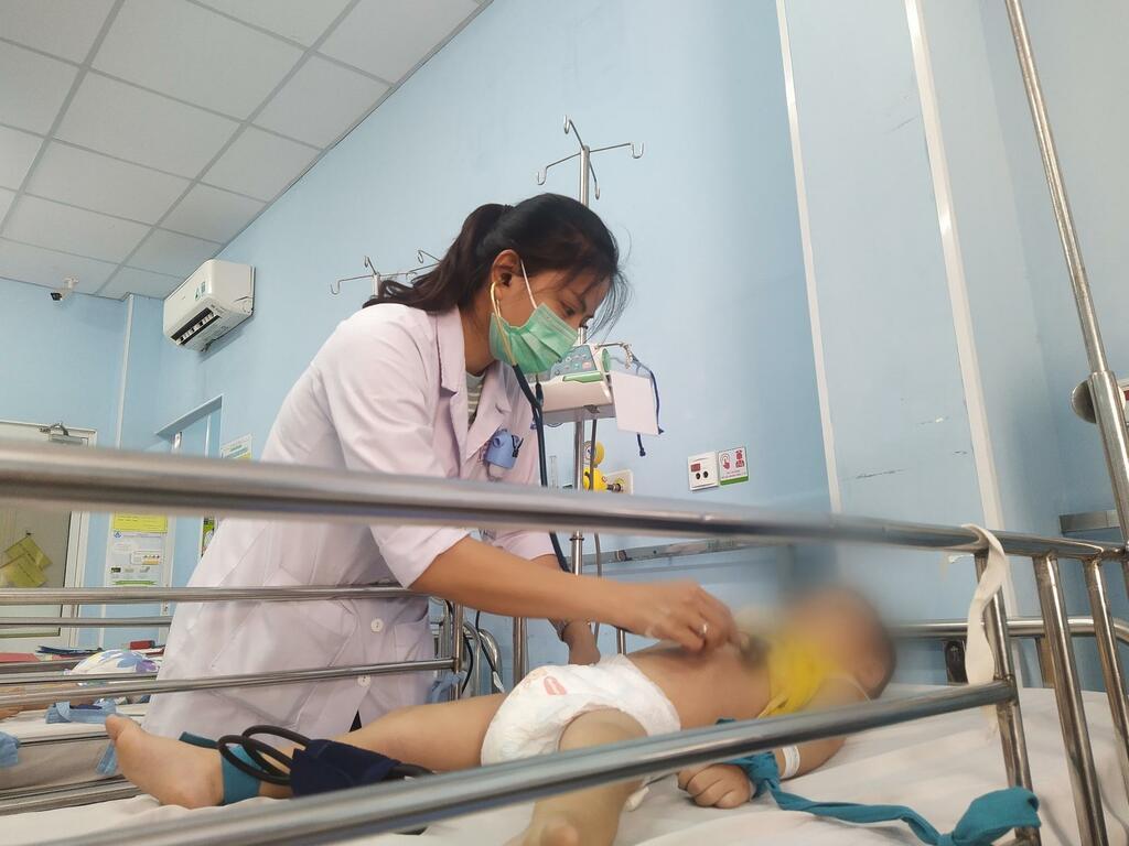 Kết quả xét nghiệm 1.000 bệnh nhi, thân nhân tại Bệnh viện Nhi Đồng 1 đều âm tính - ảnh 1